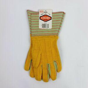 Boss Vintage Flxo Flexo Chore Gloves Brand New Yellow Waterproof Style 666 USA