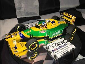 1:18 Minichamps Michael Schumacher Benetton Ford B193 German GP 1993