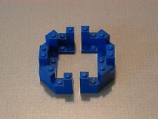 Lego Castle - 2 x Blue Castle Turret Top 4 x 8 x 2 1/3 (6066)