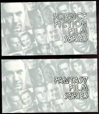 Science Fiction & Fantasy Film Series set w/ envelopes