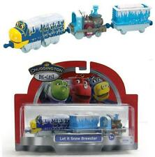 LC *CHUGGINGTON* Die-cast Train *BREWSTER* LET IT SNOW 3 Pack NIP!