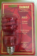 Damar Party Bulb Red13W 10,000 hr Life