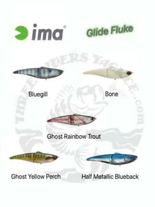 Ima Glide Fluke Glide Bait 178 Floating - Choose Color Pattern
