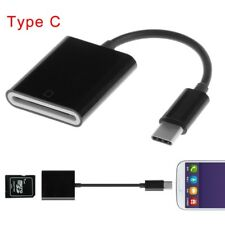 USB Type C To SD Card Camera Reader OTG Adapter Cable Fr Android Phone Tablet PC
