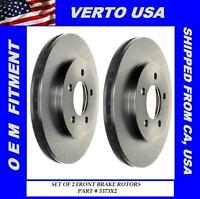 Front Brake Rotors For Chrysler, Dodge, Plymouth 282 MM Disc Base on Chart