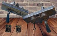Gros Lot de Serrure avec poignée Ancienne de Magasin *Gollot Art Deco + 1 clé