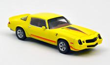 1/43 Norev Chevrolet Camaro Z28 1980 Yellow Metallic Neuf Livraison Domicile