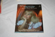 Easy ABC Music  When You Wish Upon a Star and other Disney Movies 10178 1988