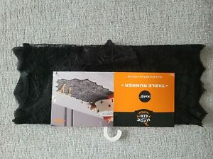 """New !  48''x14"""" Halloween Web Lace Table Runner - Hyde and Eek! Boutique"""