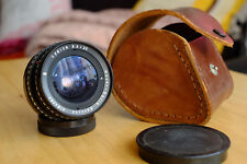 Meyer Optik Lydith 30mm F3.5 IQ lens Exakta mount,10 blade , original case