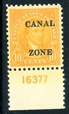 CANAL ZONE #87 MINT  VF PLATE NUMBER SINGLE - FRESH BRIGHT COLOR