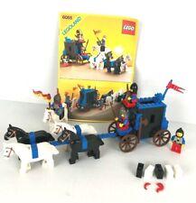 LEGO CASTLE CHATEAU 6055 Prisoner Convoy COMPLET + INSTRUCTION 1985
