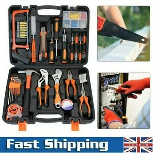 82 Piece Home Hardware Hand Tool Set Repair Daily Maintenance Claw Hammer Kit