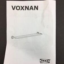 "IKEA Voxnan Glass & Metal Shelf 25 1/8""x5 1/8"" New Open Box 203.285.77"