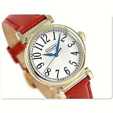 NWT Coach Women's Watch ROSE GOLD SS & White Leather MADISON 14502408 $250
