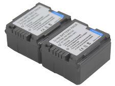 2 Battery for VW-VBG130 VBG130K VBG130GK VBG260 HDC-HS9 SD1 SD10 SD100 SD700 SD7