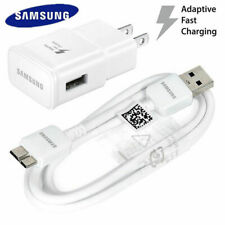 New Original Samsung Galaxy S5 & Note 3 USB Wall Charger Data Sync Cable OEM