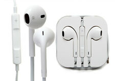 Genuine APPLE iPHONE 5 5S 5C iPad Manos Libres Auriculares Auriculares con micrófono Air