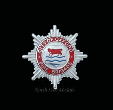 City of Oxford Fire Brigade Cap Badge