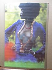 Love in Blue Vintage Poster Hot girl black is beautiful 1972 Inv#2911