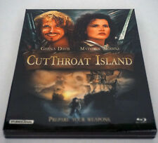Cutthroat Island ( Blu-ray ) Full Slip Case / Geena Davis / Region A