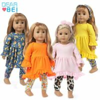American Girl Doll 18 Inch Doll Clothes New Dress Fit For 43cm