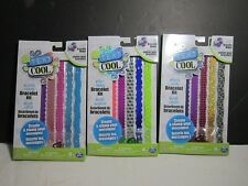 (3) Text Cool Lovely Lacey Bracelet Kits Works with Text Cool Bracelet Maker