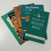 Recipe Ad Vintage Booklets Brer Rabbit Molasses Peter Pan Peanut Butter #5