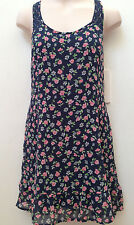 Abercrombie Kids Girl Dressy Cotton Floral Lined Dress Size XL 12 Sleevless