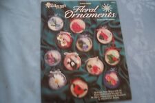 Needlecraft Shop Plastic Canvas Pattern FLORAL ORNAMENTS 943379
