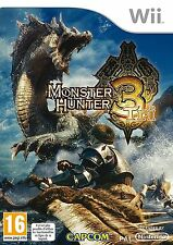 MONSTER HUNTER TRI             --- NEUF  -----   pour WII
