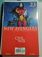 New Avengers #23 VF (2005 Series) Marvel Comic Civil War