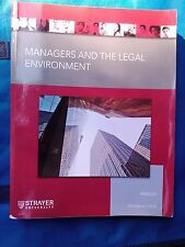 managers and the legal environment Bagley 7th ed Strayer University 2013 book