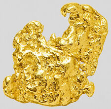 0.1337 Gram Alaska Natural Gold Nugget  ---  (#64398) - Alaskan Gold Nugget