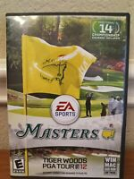 Tiger Woods PGA TOUR 12: The Masters PC Mac Video Game with Manual