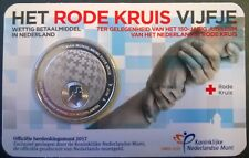 Coincard Rode Kruis 5 euro in UNC kwaliteit in CuNi