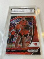 Rare 2020/21 Panini Ruby Red Wave Prizm Obi Toppin RC Rookie GEM MINT 10