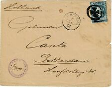 St. Helena 1901 Boer War POW cover to the Netherlands, censored