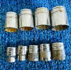 "Snap-on Tools USA 3/8"" Drive 12pt 9pc Socket Set F121(3/8) - F281(7/8)"