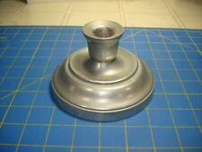 New listing Pewtarex Pewter Candle Holder Made In York Pennsylvania Top Quality Well Made