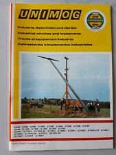 Unimog Mercedes Werner Winch brochure 1980's