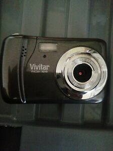VIVITAR VIVICAM X018 1=7MM F3.0 DIGITAL CAMERA CAMCORDER MINT FLASH