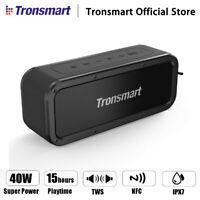 Tronsmart 40W TWS Wireless bluetooth Stereo Speaker IPX7 Waterproof NFC   ❤ ! *