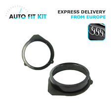 "Audi A3 2003-  Speaker Adapter Adaptor Rings 165mm 16cm 6.5"" Rear and Front Door"