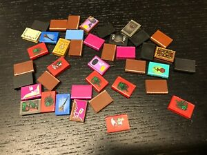 LEGO Harry Potter 40 Spellbook minifigure accessories Book LIbrary Lot O579