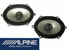 Alpine Sxe 5725S Audio Loudspeaker System 2 Way 200 Watt Pair Price Ford 5 x 7
