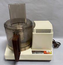 Sunbeam Mixmaster Model 14-51 Food Processor (A10)