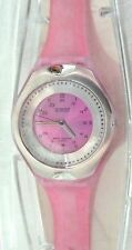 Prestige Medical Scrub Quartz Watch Pink Cyber Gel Water Resistant New