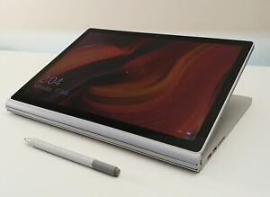 Microsoft Surface Book 2 13.5in 3K touch i7-8650U/16GB RAM/512GB SSD/GTX1050/Pen