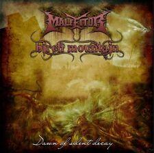 MALFEITOR/BIRCH MOUNTAIN - Dawn of silent decay - Split CD - DEATH METAL